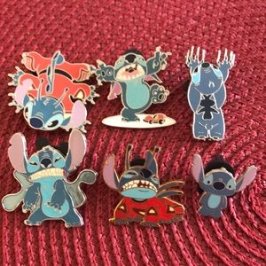 Disney Stitch Pin bundle